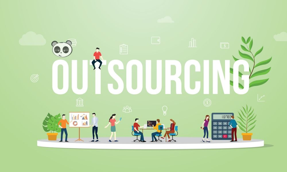 Outsourcing service - Human resources trend in 21st century.