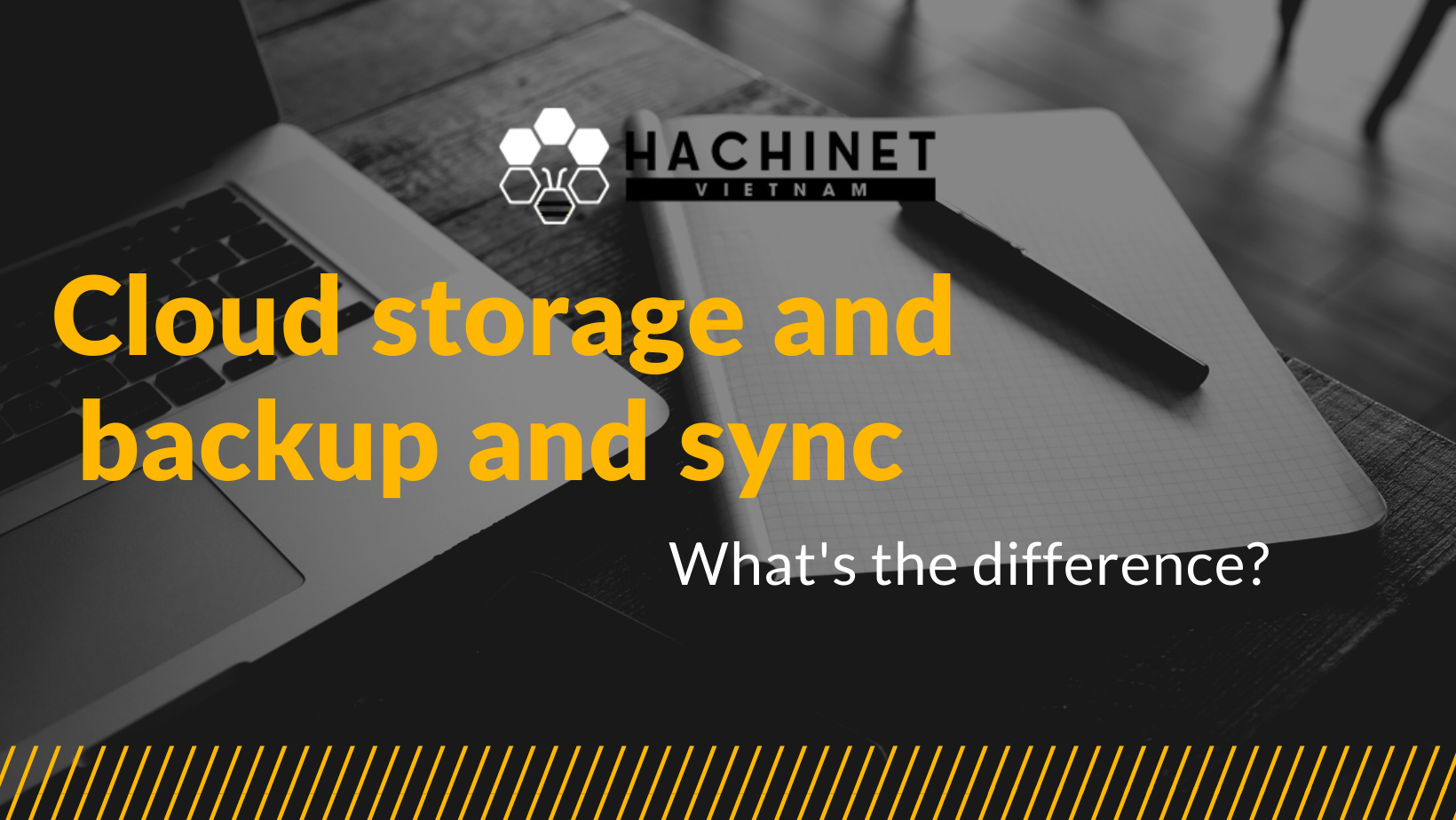 Cloud storage and Cloud backup and Cloud sync: What's the difference?