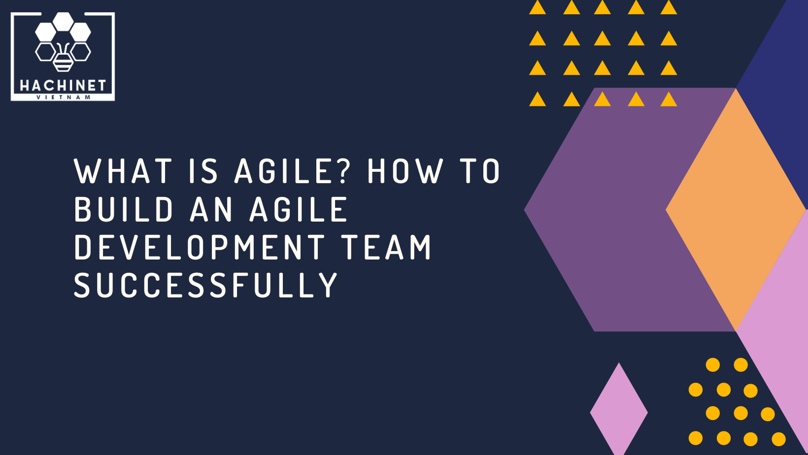 What is Agile? How to build an Agile Development team successfully (part 1)