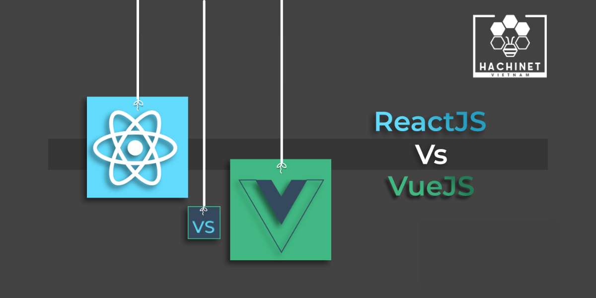 The difference between React.JS and Vue.JS