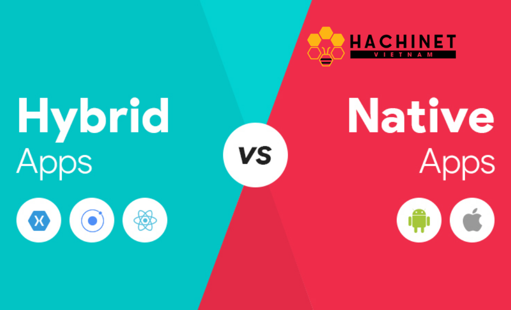 The difference between Native App Development and Hybrid App Development