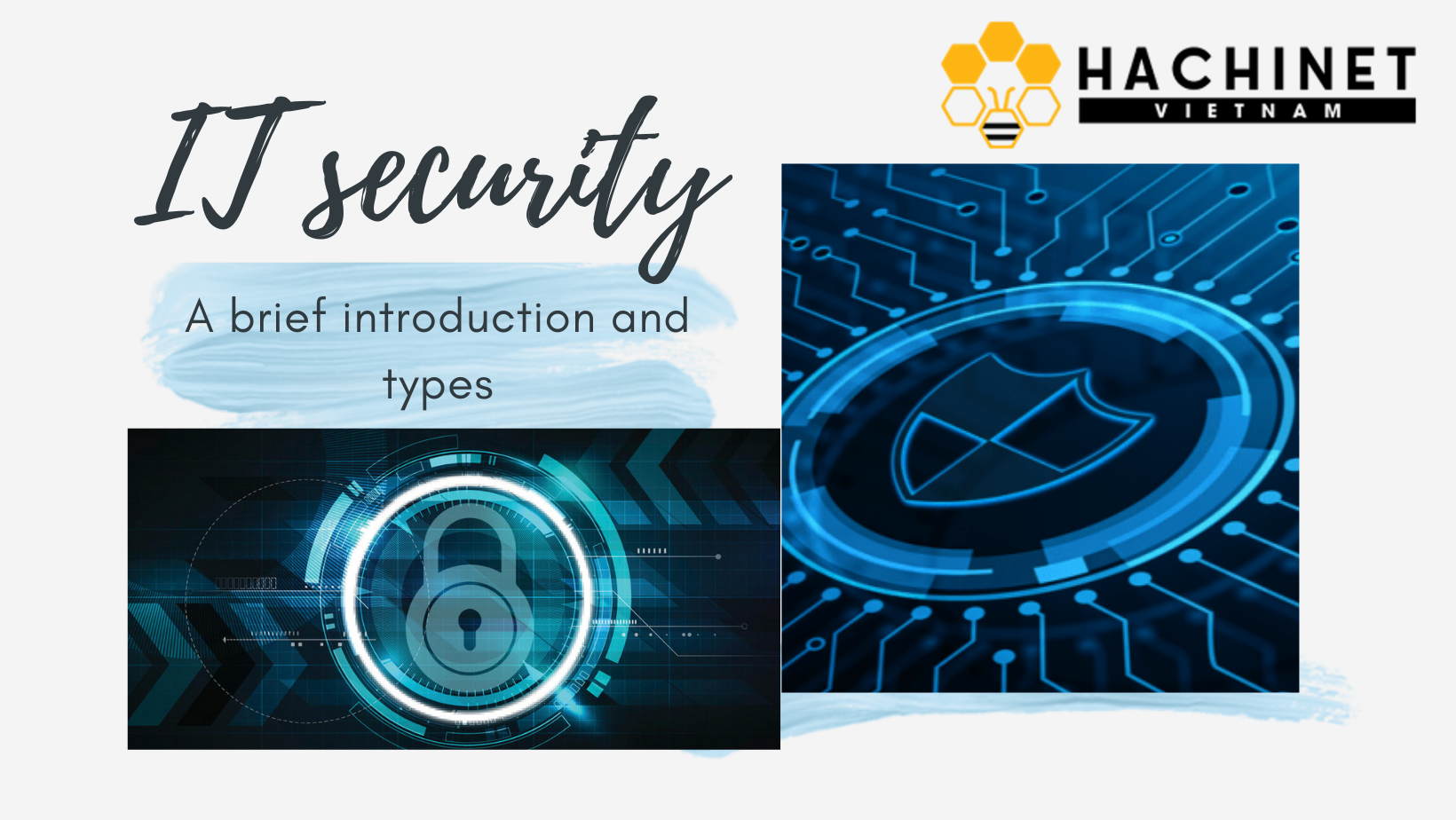 IT security - a brief introduction and types